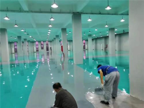 地坪漆一般施工方法是什么?新疆环氧地坪施工方告诉你