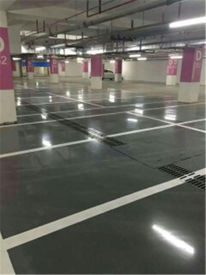 钢化固化地坪