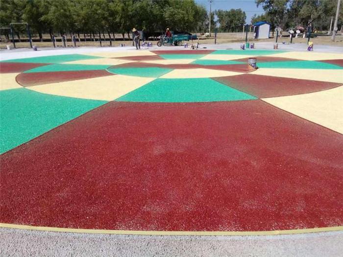 透水地坪——新疆自流平材料