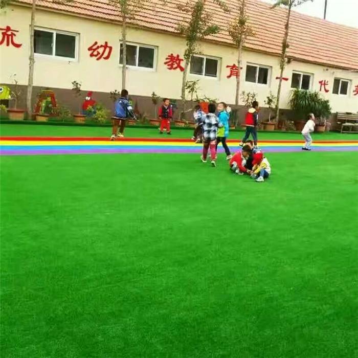 宇浩通达给某公园修建的人造草坪案例