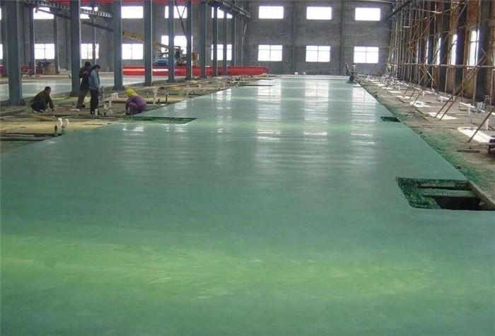 宇浩通达给某地库修建的金刚砂耐磨地坪案例
