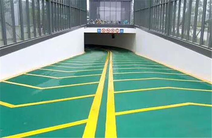 宇浩通达给某底下车库入口处修建的无震动止滑坡道案例