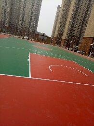 硅pu篮球场系列
