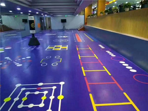 乌鲁木齐健身房 塑胶运动地板