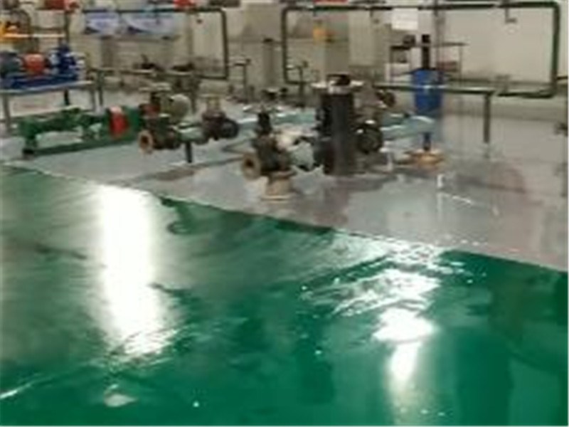 克拉玛依油田培训机构环氧平涂地坪