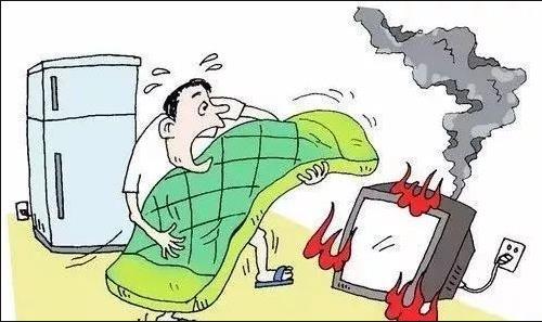 #疫情期间居家遇火情一定要理性处理哦!