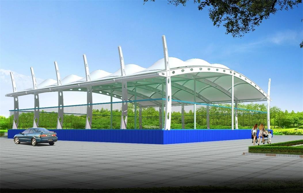 四川膜结构遮阳棚