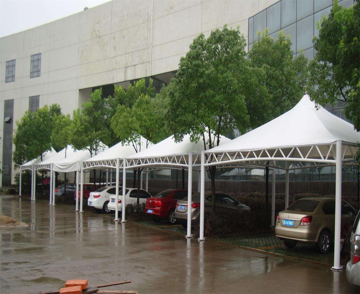 春季多雨我们如何防护好膜结构停车棚?
