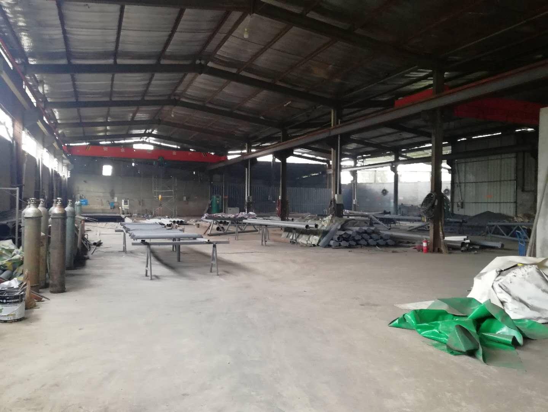 钢结构加工厂实况