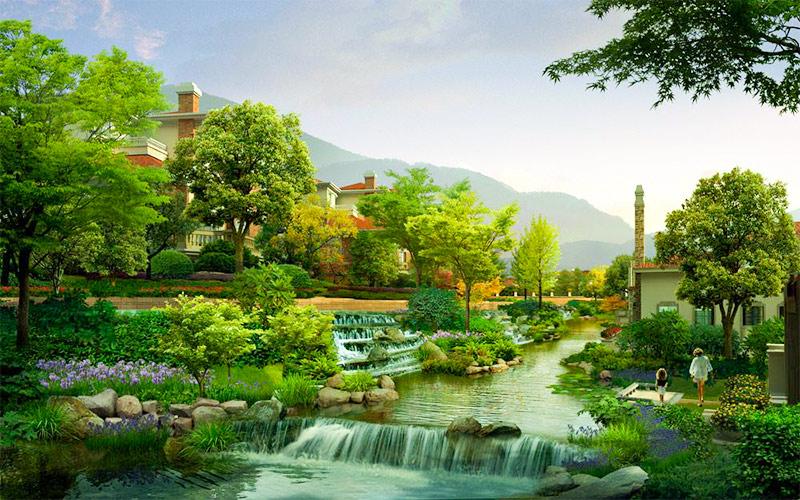 地域文化在园林景观中的表达