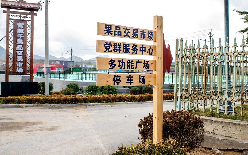 园林景区指示牌