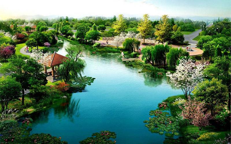 教你园林景观中的水景营造方法,看完赶快收藏吧