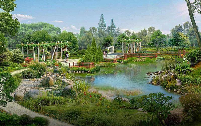 园林景观工程中几种设计风格