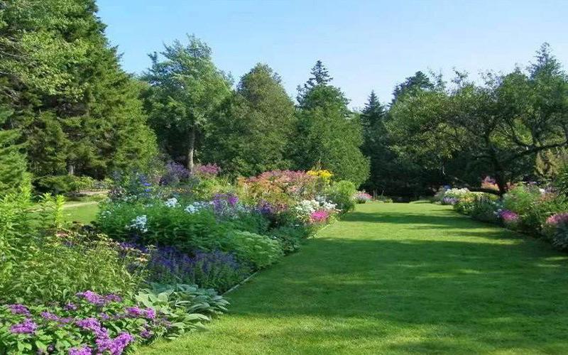 大连园林景观工程中的花境设计有什么作用