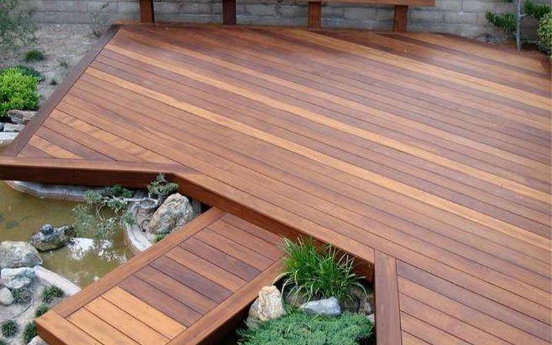 防腐木厂家对防腐木的强度、材质、外观等选用原则