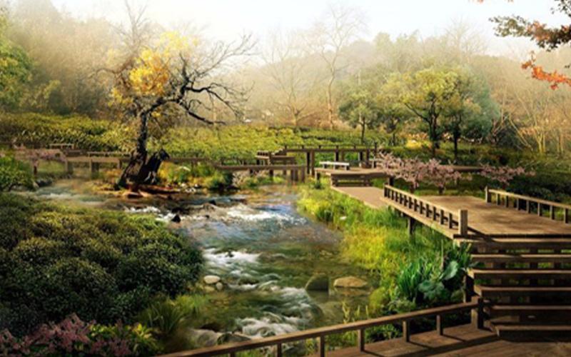 植物保护工作在园林景观设计中的重要性