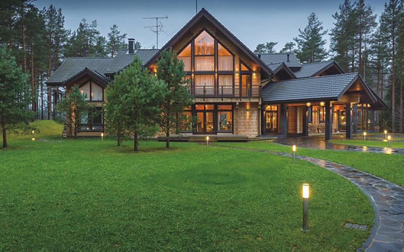 6间住宅木屋