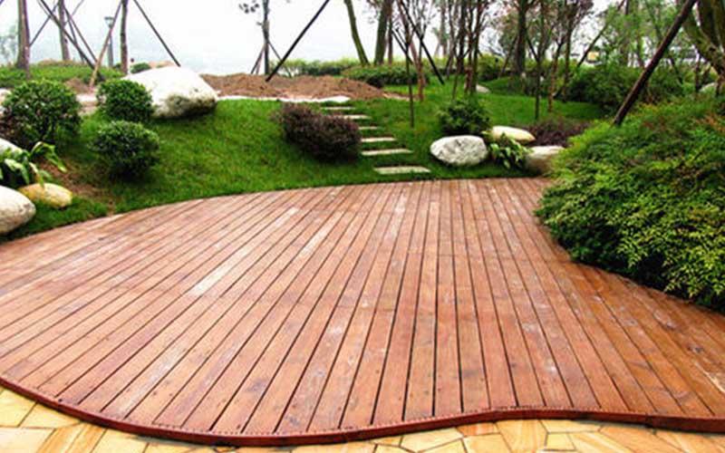 生态住宅建筑材料——大连防腐木