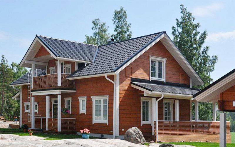 使用防腐木材料搭建木屋有什么优势
