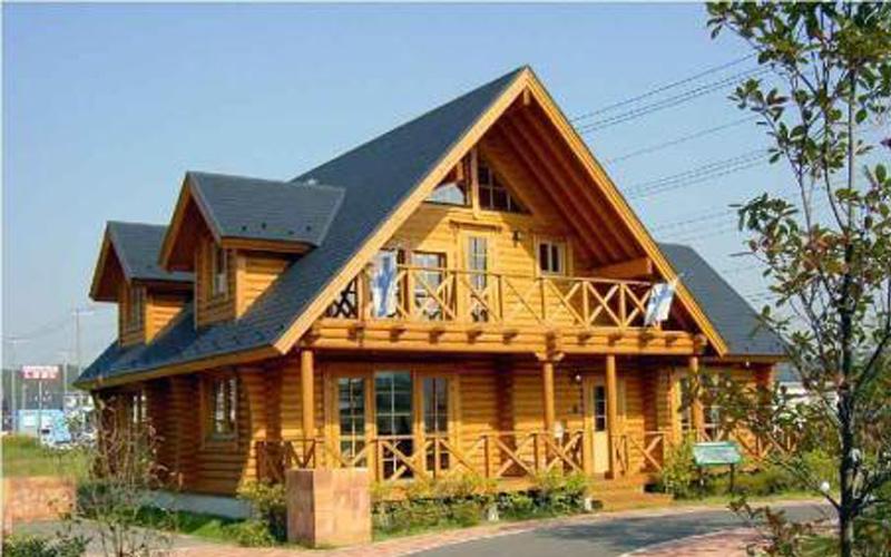大连防腐木厂家:防腐木木屋的特点。