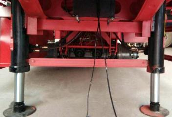 液压升降机使用的液压支腿大致上有这4个形式!