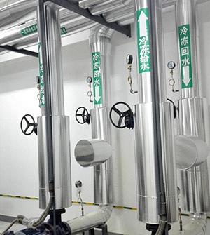 宝鸡市豪威工贸公司为峰火厂机房进行铝皮施工!