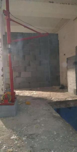 河南网格布批墙施工