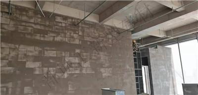 河南加气块隔墙施工案例