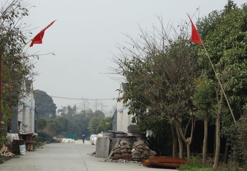 四川钢格板公司工厂实景