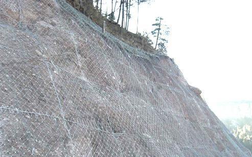 四川边坡防护网技术植被恢复治理的方法