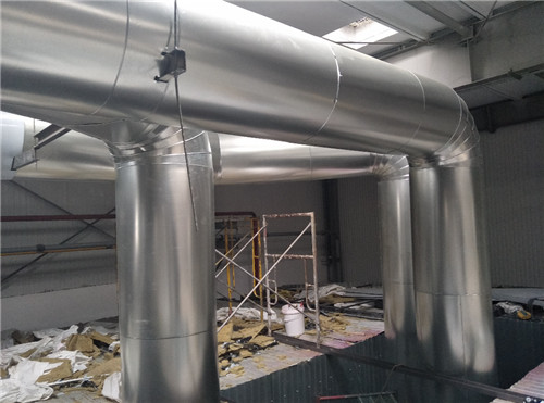 厨房排烟管道的安装是需要一定规范的