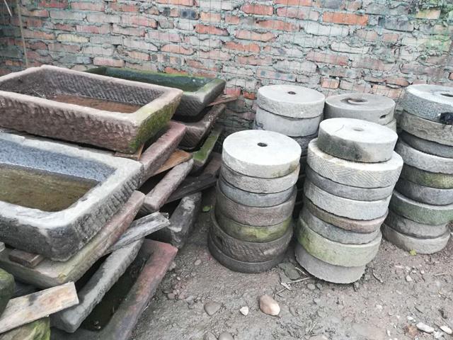 四川旧石磨