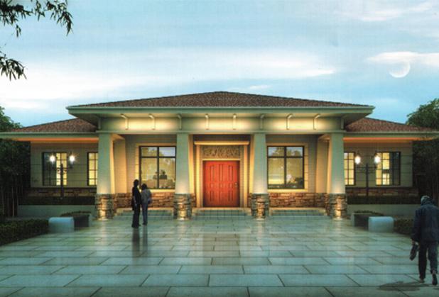 達州輕鋼房屋-一層別墅
