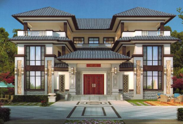 达州新中式别墅