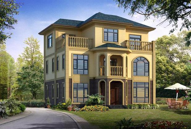 达州轻钢房屋-多层别墅
