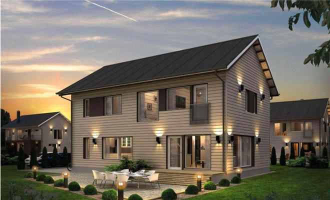 自建房屋的几大难题,看轻钢别墅如何解决!