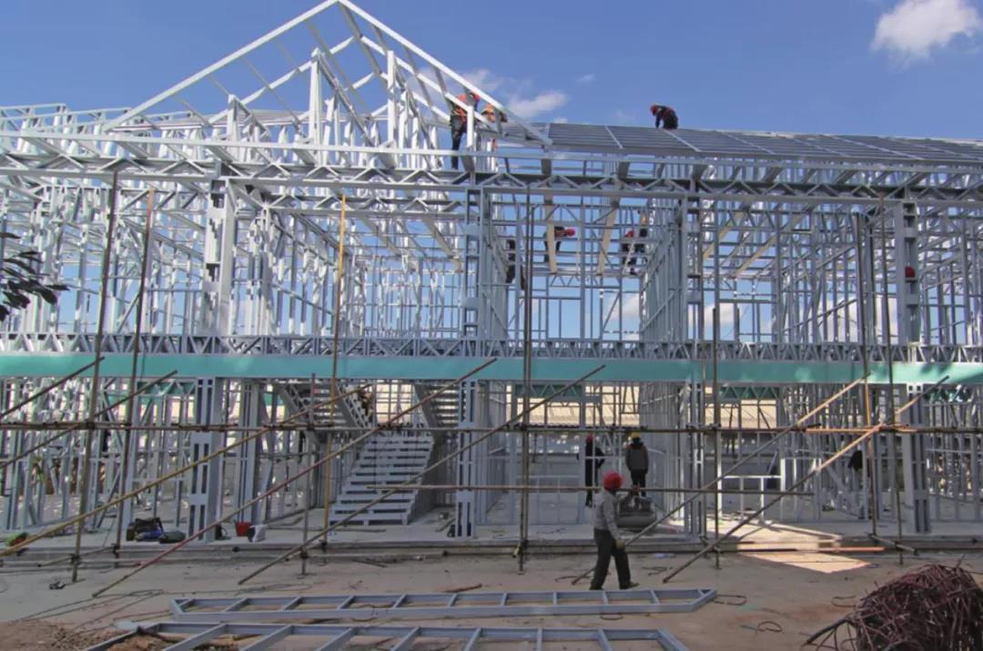 【科普】同胜轻钢房屋是如何建造的?(主体篇)