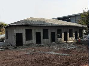 |案例实拍| 同胜绿建轻钢别墅12天完工
