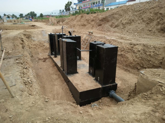 富平风电场升压站的生活污水处理设备