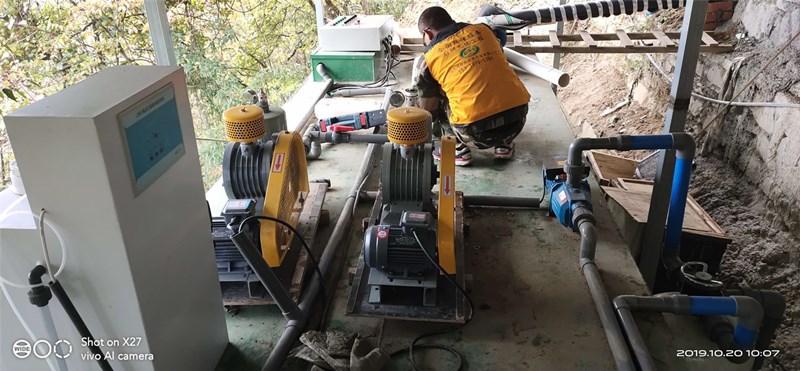 临潼宝湾物流园项目污水处理设备