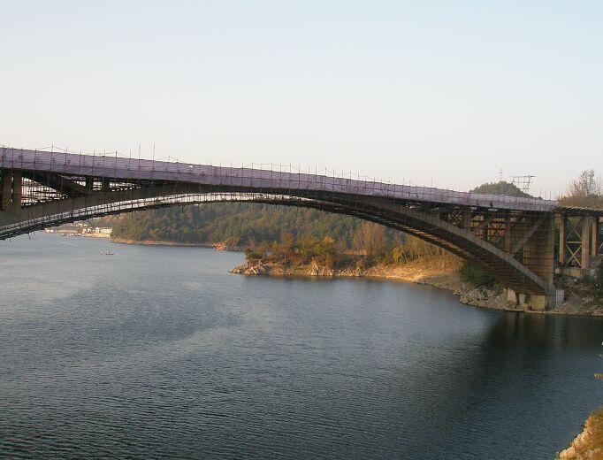 贵州花鱼洞大桥加固案例