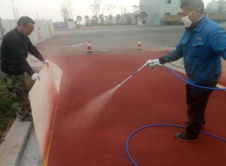 泸州港建设彩色砂止滑公路工程案例