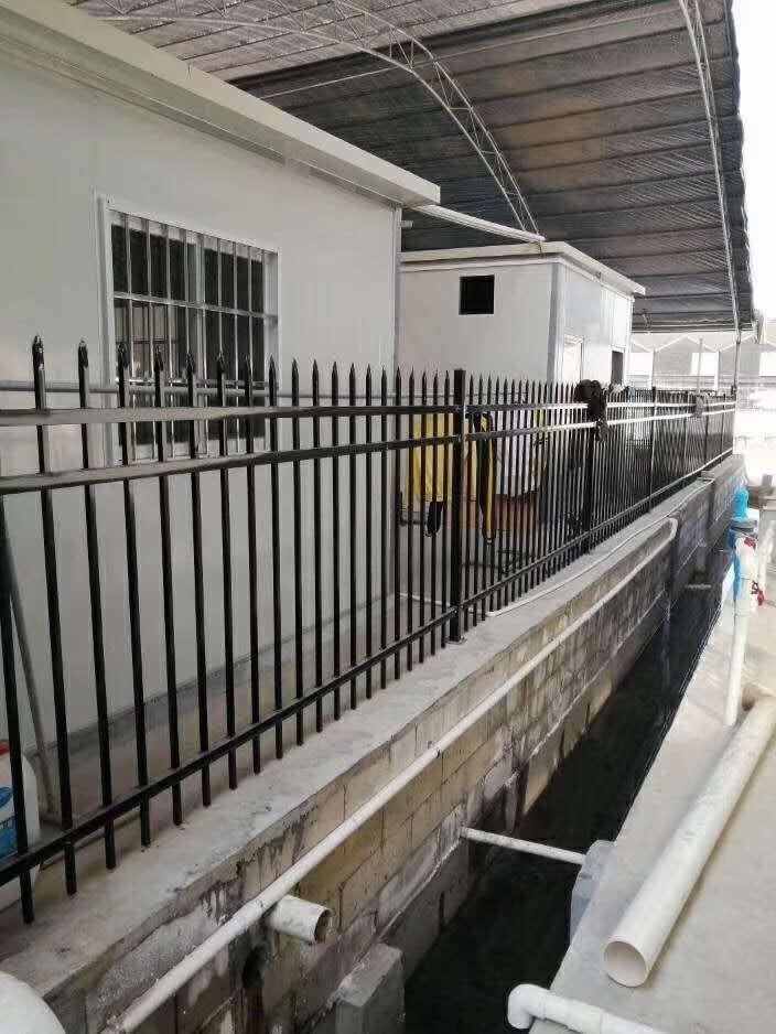 成都锌钢护栏成功案例