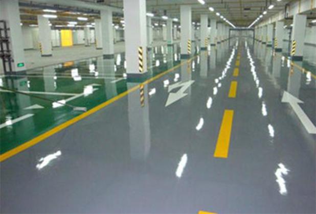 四川停车场地坪- 溶剂型环氧薄涂面漆
