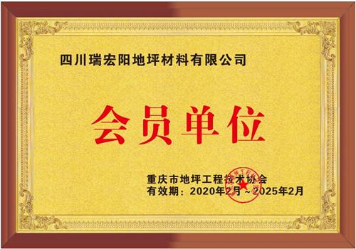 重庆市地坪工程技术协会