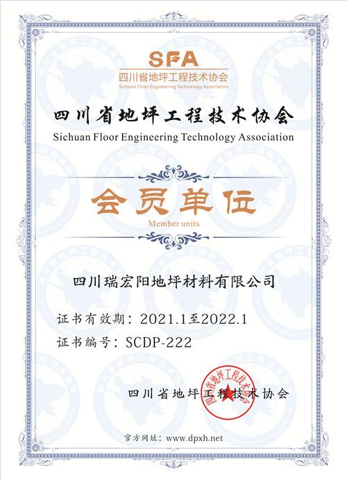 四川省地坪工程技术协会