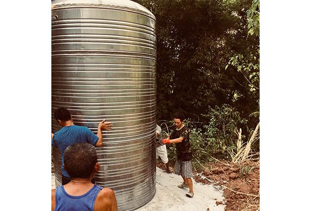 达州不锈钢水箱安装