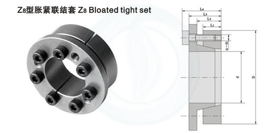 Z8型胀紧联结套