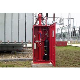 排油注氮灭火系统