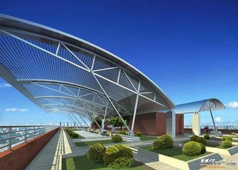 简介钢结构工程施工工艺流程